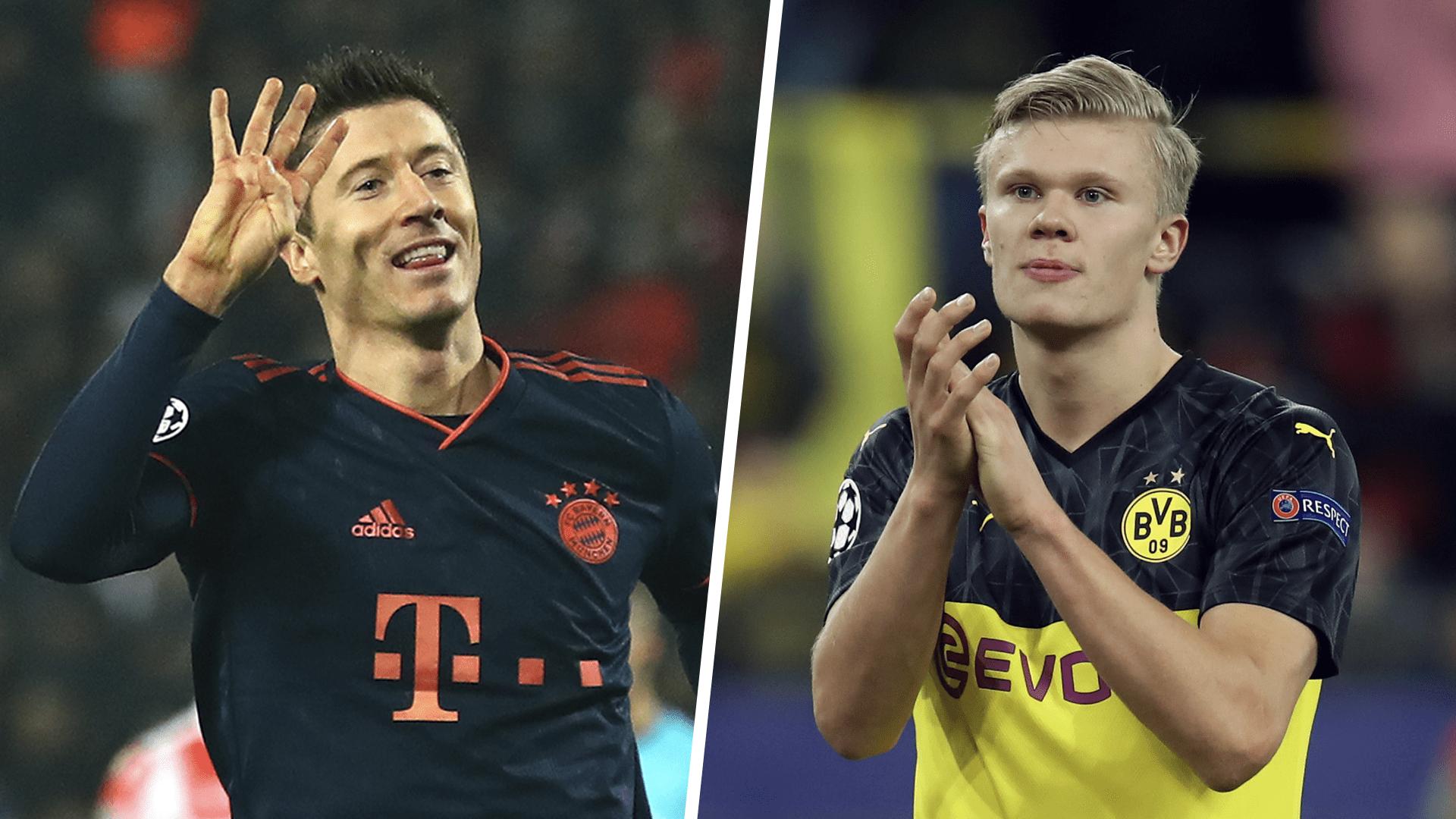 UEFA top scorers 2019-20: Haaland & Lewandowski lead the way