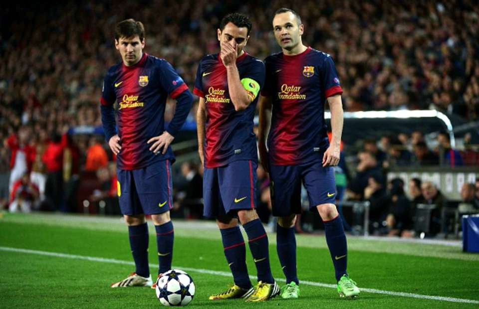 Xavi and Iniesta are the secret behind Messi success