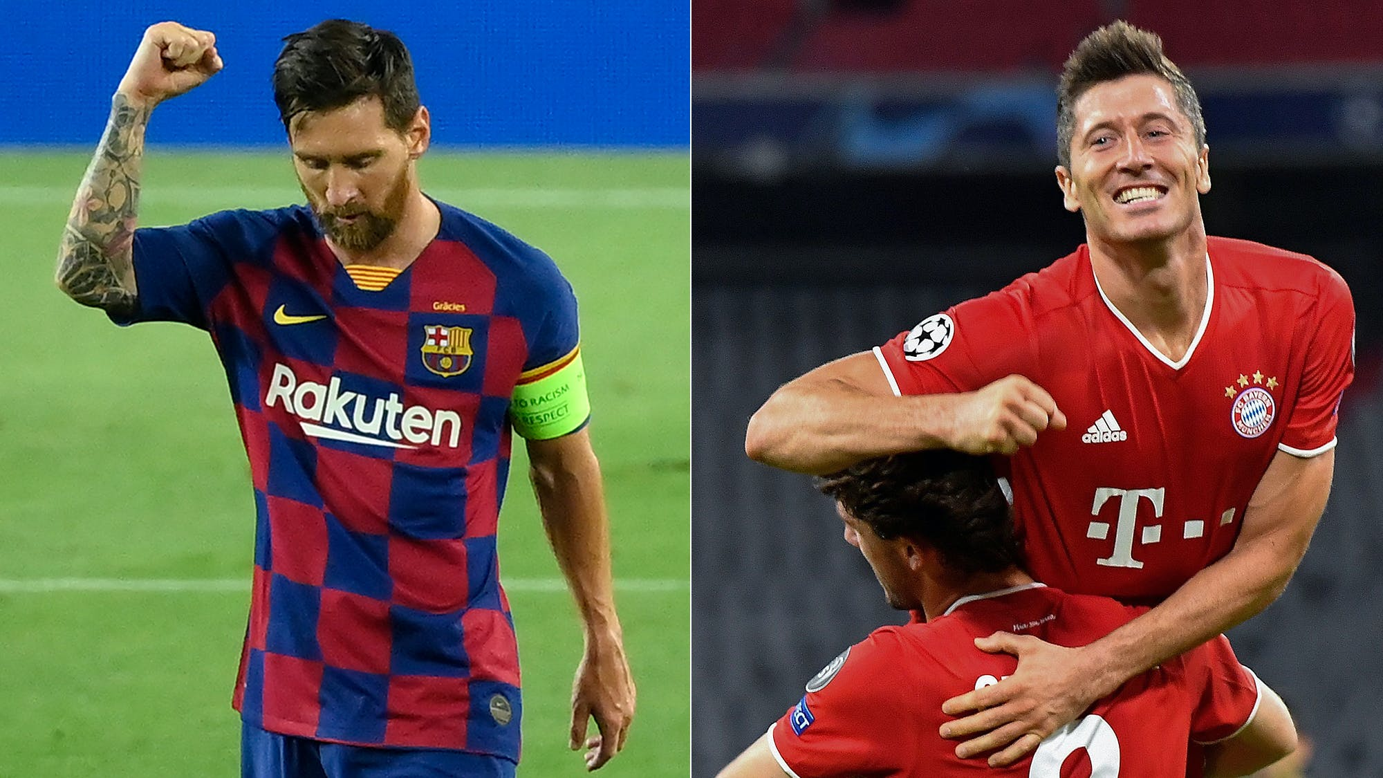 Messi's choice comes eleven days after the mortifying 8-2 destruction to Bayern