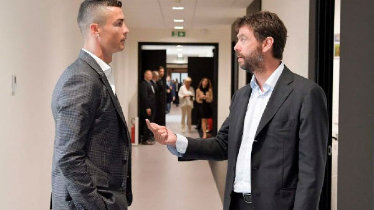 Ronaldo is not going anywhere - Chairman Andrea