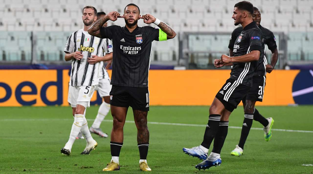 First half result and detail, Juventus vs Lyon