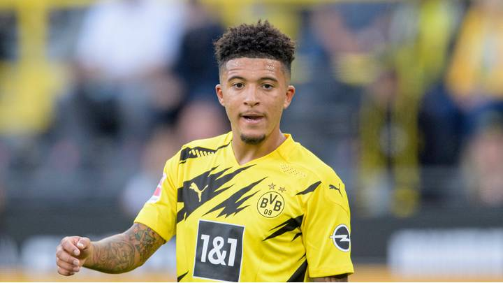 Jadon Sancho is reportedly desperate to link up with three England team-mates