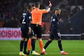 Neymar red card, as Marseille beat PSG