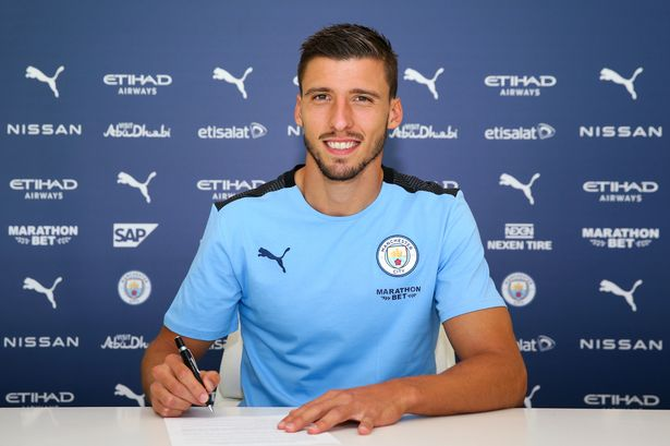 Ruben Dias sign six year deal with Manchester City