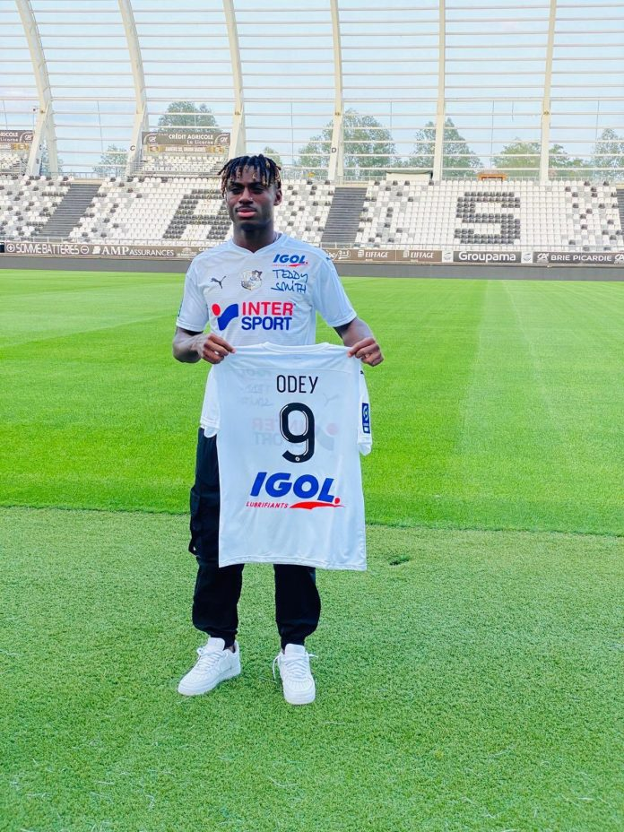 Stephen Odey has joined Amiens SC from Genk