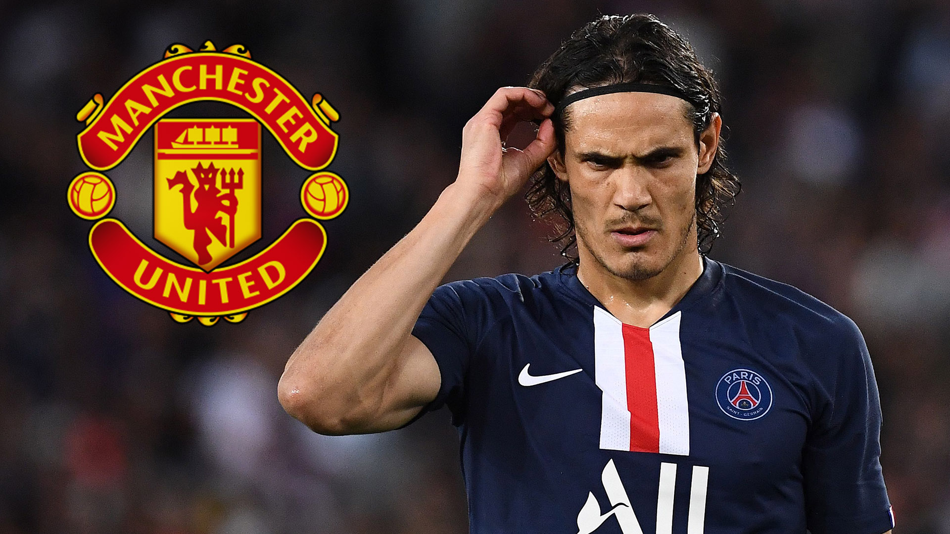 Edinson Cavani agrees two-year deal with Manchester United