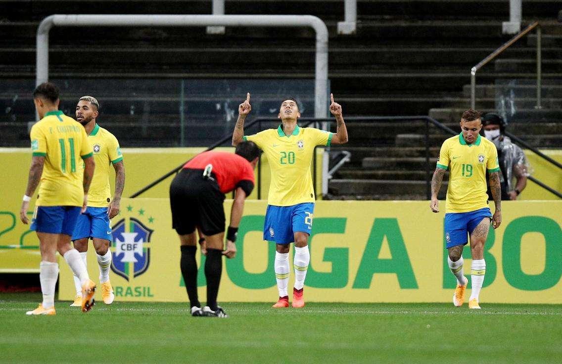 Firmino scored a brace goal