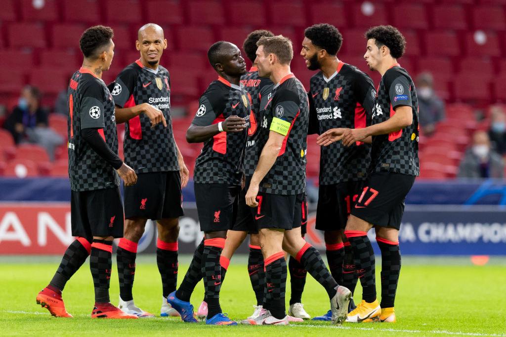 Liverpool made a winning start to their UEFA campaign
