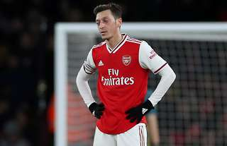 Mesut Ozil Set To Be Left Out Of Europa League Lineup