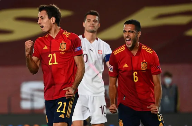 Spain Edge Switzerland, Germany Beat Ukraine