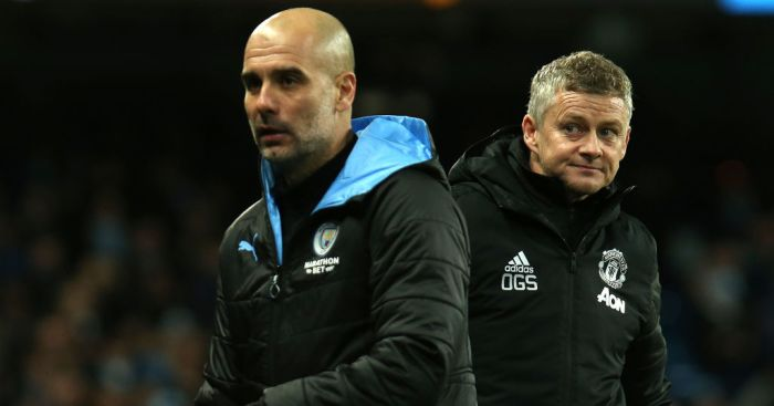 Guardiola sends message to Manchester United counterpart Ole Gunnar Solskjaer