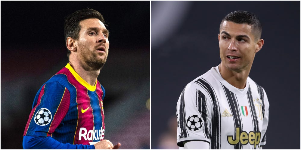 Messi and Ronaldo face each other