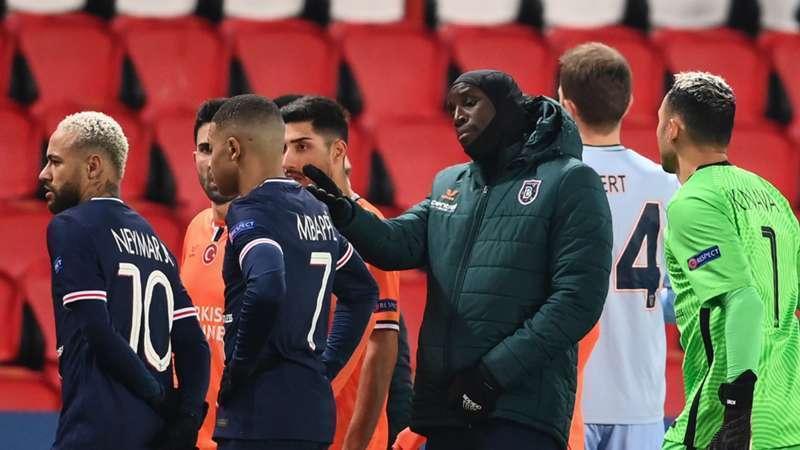 PSG and Istanbul Basaksehir walk-off
