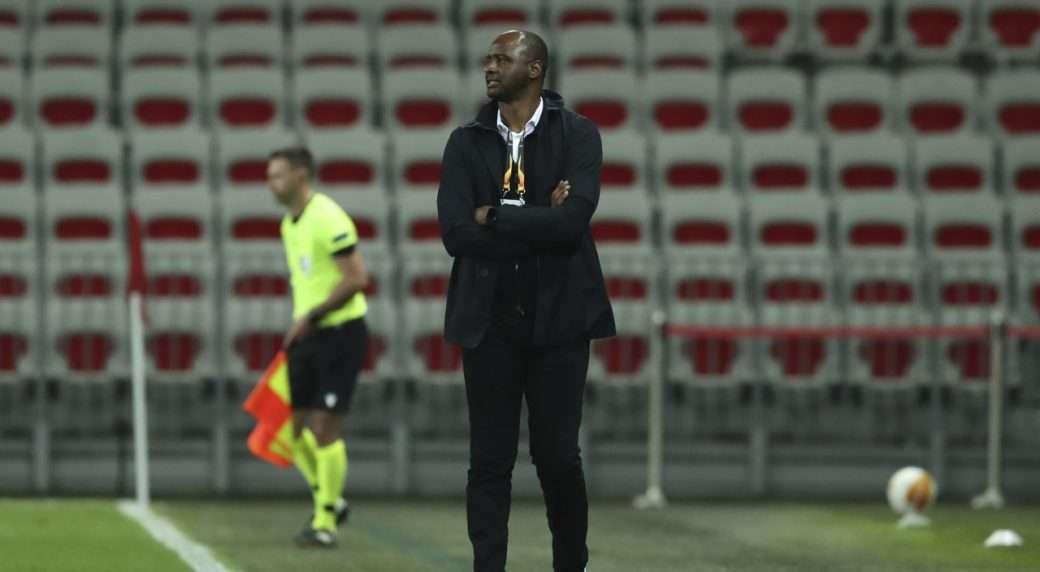 Patrick Vieira was sack Nice management