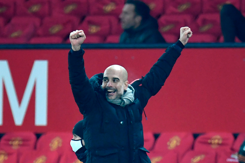 Guardiola hails 'magic' Man City for reaching fourth straight Carabao Cup final
