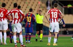 Messi red card explained by referee after Athletic Bilbao defeat