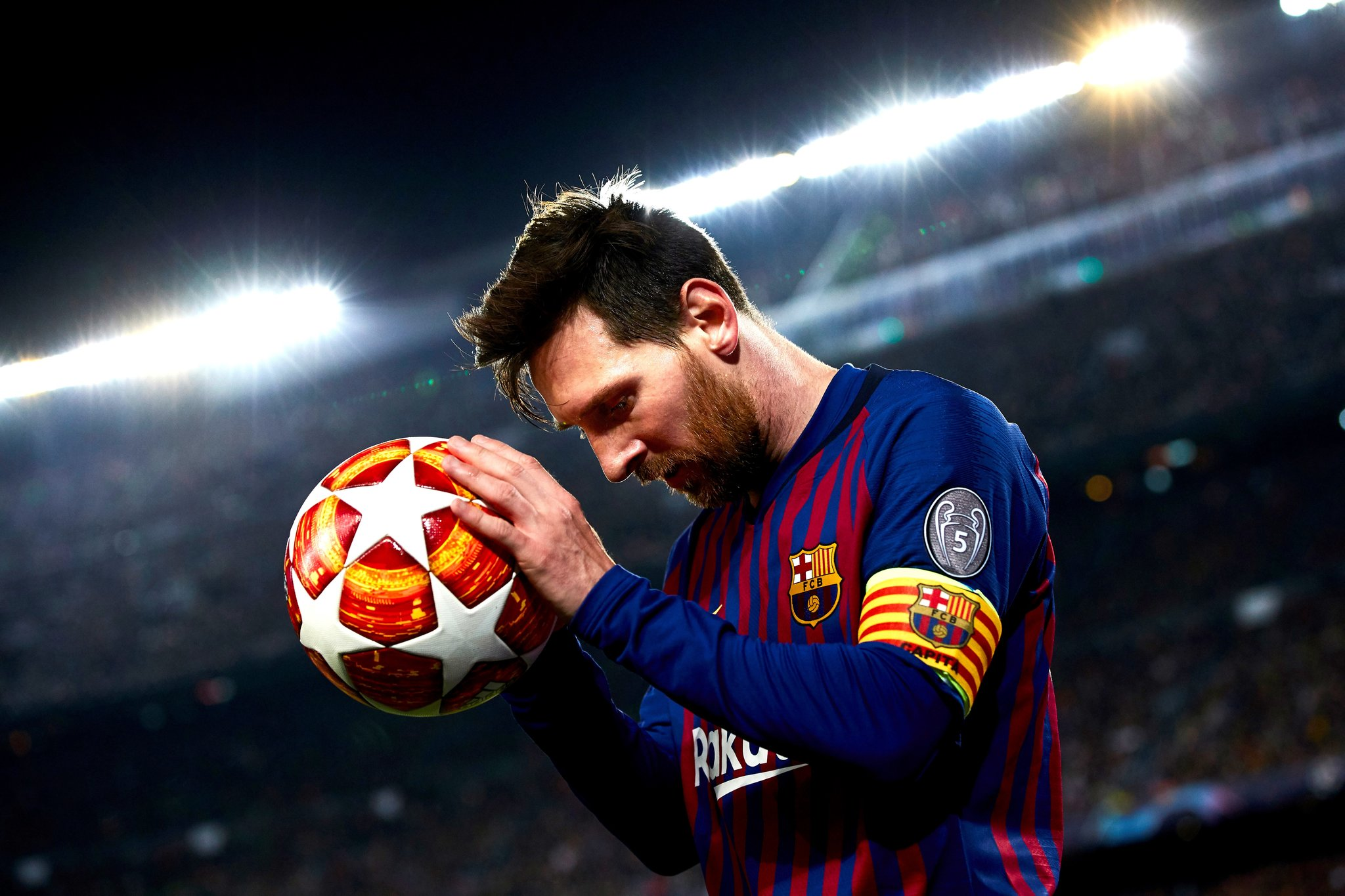 Messi show his other face during extra time