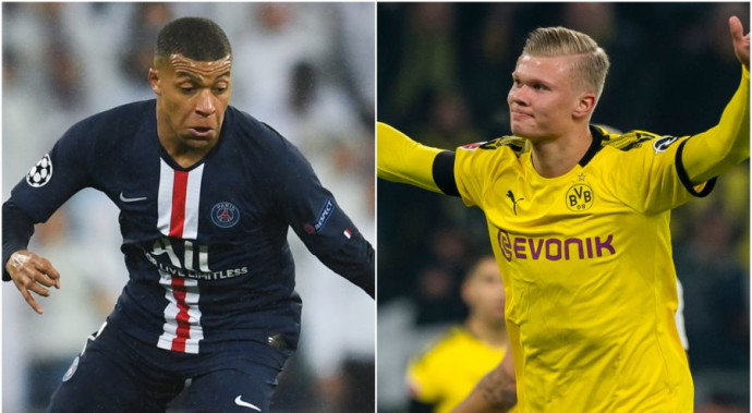 Kylian Mbappe & Erling Haaland, who perform better in this week Champions League