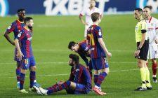 Barcelona have been handed a massive injury players