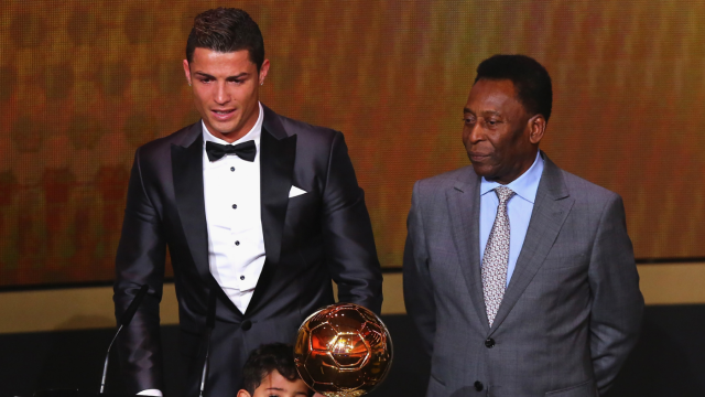 Pele congratulate Cristiano Ronaldo for 'breaking my record'