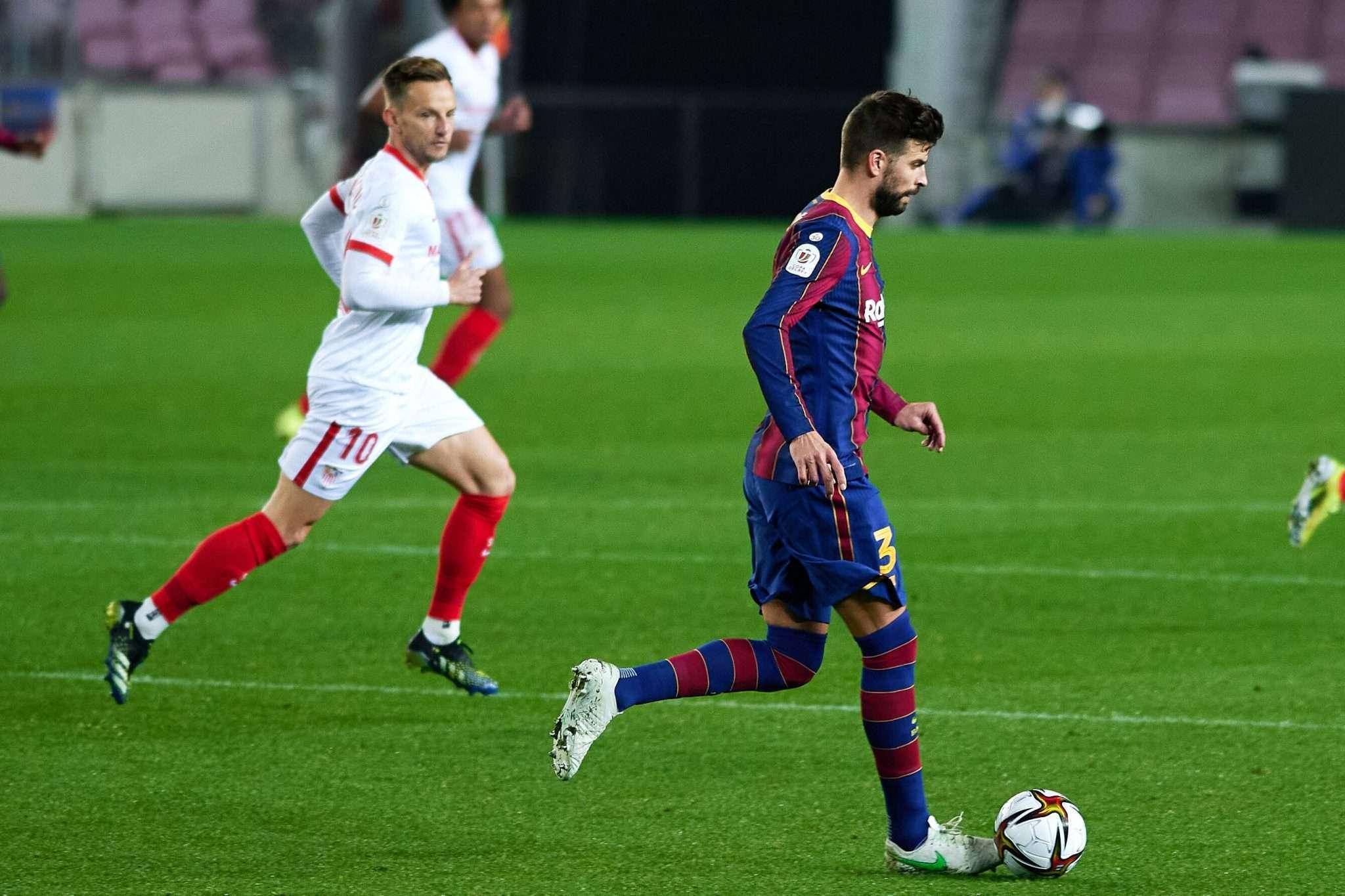 Pique picks up injury following comeback against Sevilla