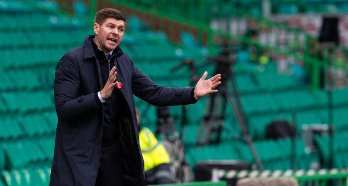 I will rather win the league for Rangers - Steven Gerrard