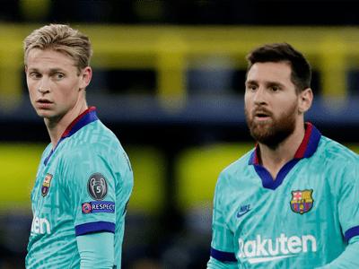 Messi & De Jong are in danger