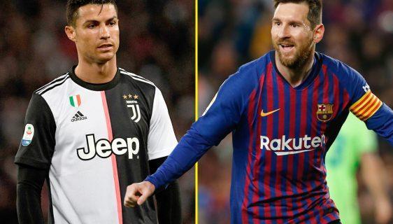 Lionel Messi vs Cristiano Ronaldo official goals