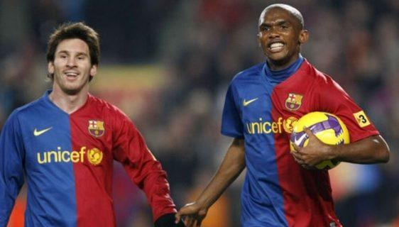 Samuel Eto'o starred as Barcelona's No. 9 from 2004 to 2009