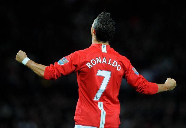 Cristiano Ronaldo's shirt number