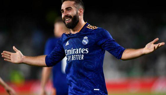 Dani Carvajal take Real Madrid to the top