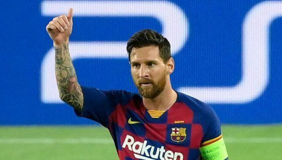 Lionel Messi has Barcelona exit clause in new five-year