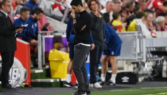 Mikel Arteta issues apology to Arsenal fans after opening day defeat