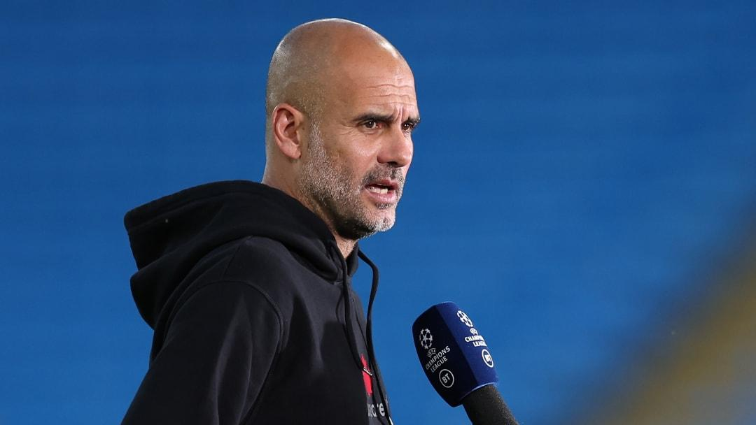 Guardiola want with Man City fans to attend games