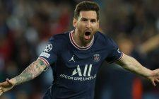 Messi score first goal for PSG